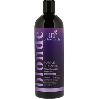 Artnaturals, Purple Shampoo, Color Balance and Tone, 16 fl oz (473 ml)