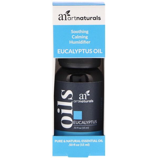 Artnaturals, Eucalyptus Oil, .50 fl oz (15 ml)