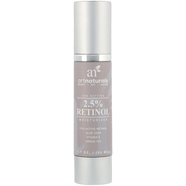 Artnaturals, Hydratant anti-âge au rétinol à 2,5 %, 50 ml (1,7 oz) (Discontinued Item)