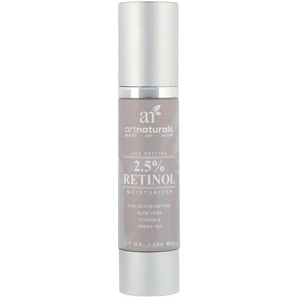 Artnaturals, Antiedad, humectante con retinol al 2,5 %, 1,7 oz (50 ml) (Discontinued Item)