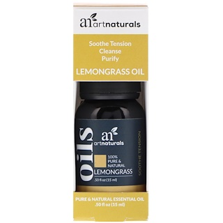 Artnaturals, Lemongrass Oil, .50 fl oz (15 ml)