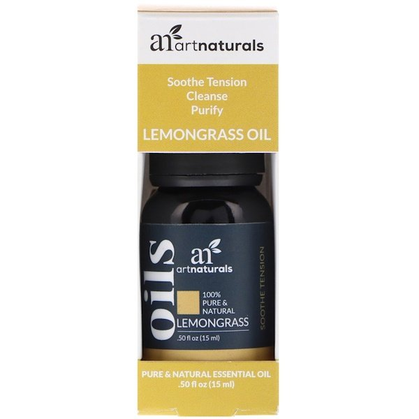 Aceite de limoncillo, 15 ml (.50 fl. Oz)