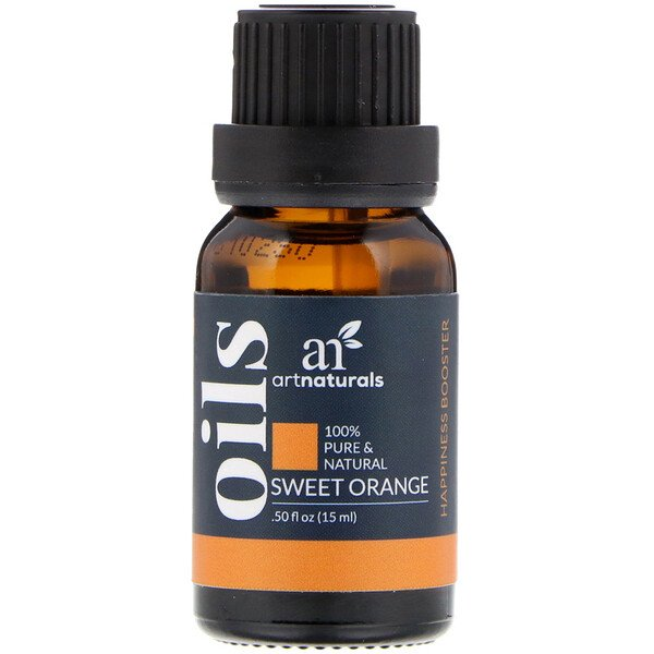 Artnaturals, Sweet Orange Oil, .50 fl oz (15 ml)