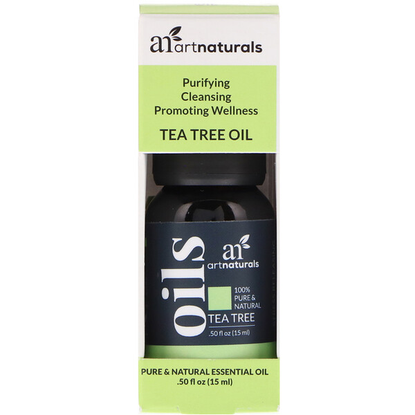Artnaturals, Tea Tree Oil, .50 fl oz (15 ml)