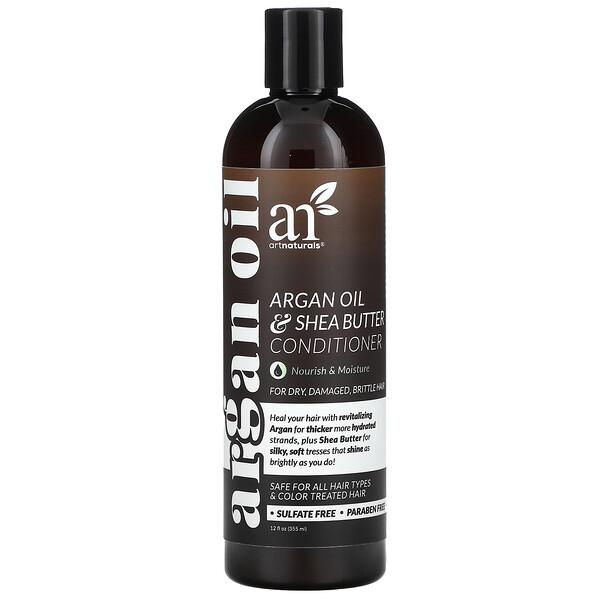 摩洛哥坚果油 + 乳木果护发素,12 液量盎司(355 毫升)