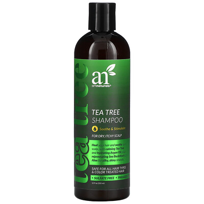 Artnaturals Tea Tree Shampoo, 12 fl oz (355 ml)