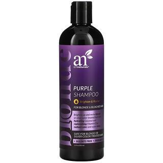 Artnaturals, Purple Shampoo, For Blonde & Bleached Hair, 12 fl oz (355 ml)
