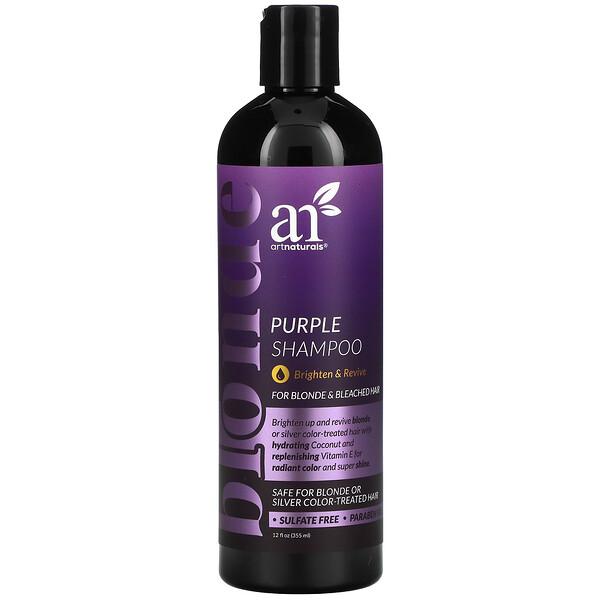 Purple Shampoo, For Blonde & Bleached Hair, 12 fl oz (355 ml)