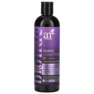 Artnaturals Purple Conditioner, For Blonde & Bleached Hair, 12 fl oz (355 ml)