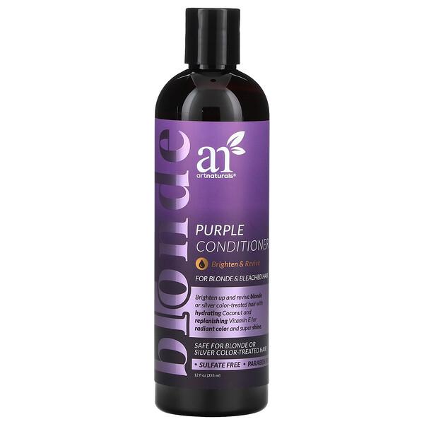 Purple Conditioner, For Blonde & Bleached Hair, 12 fl oz (355 ml)