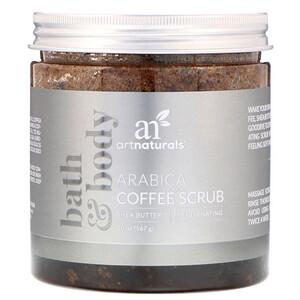 Арт Натуралс, Arabica Coffee Scrub, 20 oz (567 g) отзывы покупателей
