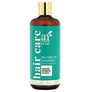 Artnaturals, Luxe, Tea Tree Oil Shampoo, For Dry, Itchy Scalp, 16 fl oz (473 ml)
