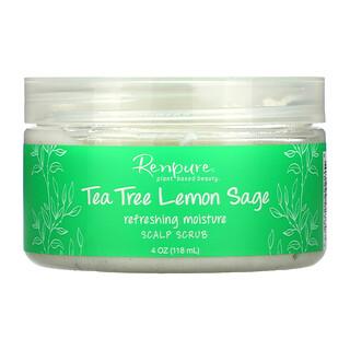Renpure, Tea Tree Lemon Sage, Scalp Scrub, 4 oz (118 ml)
