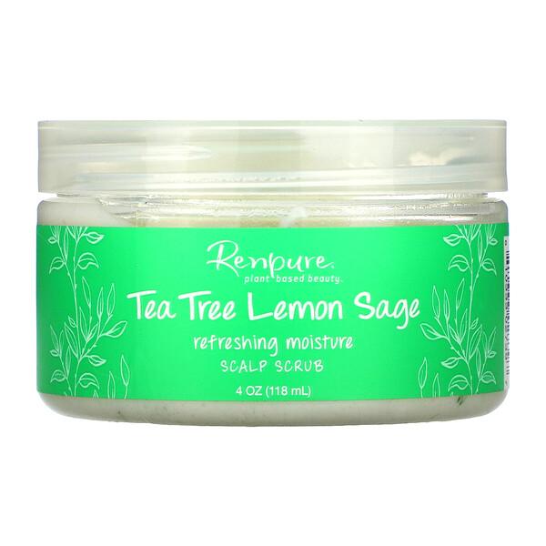 Tea Tree Lemon Sage, Scalp Scrub, 4 oz (118 ml)
