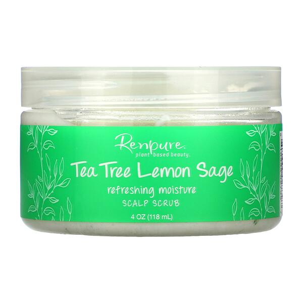 Tea Tree & Lemon Sage, Scalp Scrub, 4 oz (118 ml)
