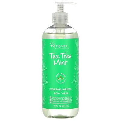 Renpure Tea Tree Mint, Refreshing Moisture Body Wash, 19 fl oz (561 ml)