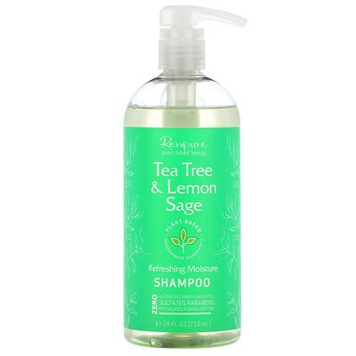 Купить Renpure Tea Tree & Lemon Sage Shampoo, 24 fl oz (710 ml)
