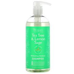 Renpure, 茶樹和檸檬鼠尾草洗髮水,24 盎司(710 毫升)