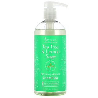 Renpure, Tea Tree & Lemon Sage Shampoo, 24 fl oz (710 ml)
