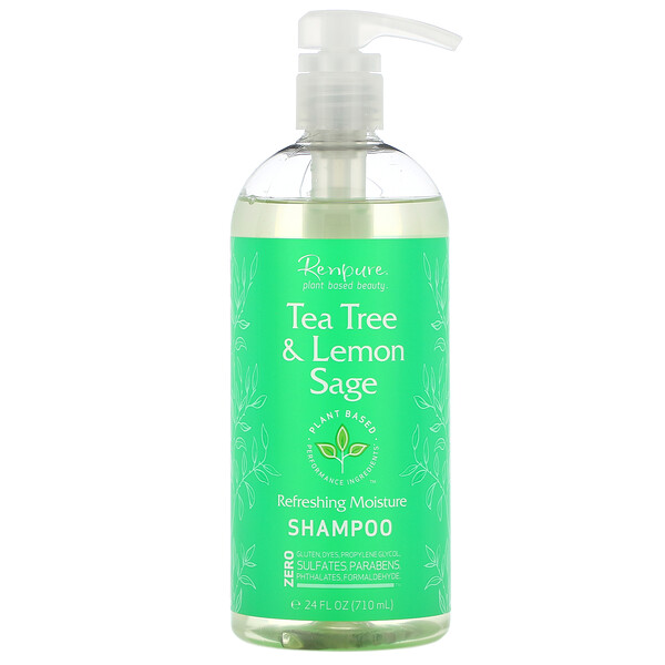 Tea Tree & Lemon Sage Shampoo, 24 fl oz (710 ml)