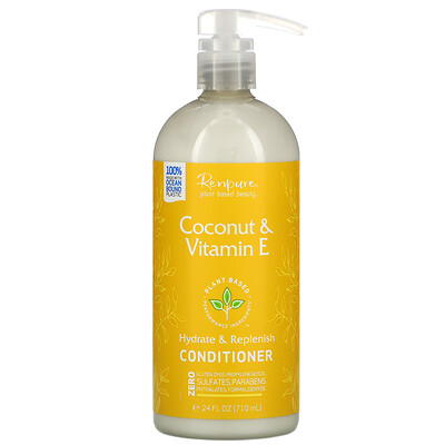 Renpure Coconut & Vitamin E Conditioner, 24 fl oz (710 ml)