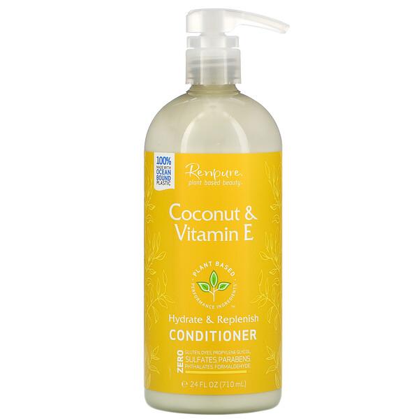 Coconut & Vitamin E Conditioner, 24 fl oz (710 ml)