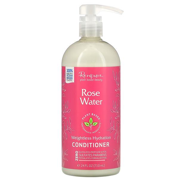 Rose Water Conditioner, 24 fl oz (710 ml)