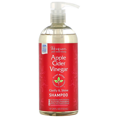 Renpure Apple Cider Vinegar Shampoo, 24 fl oz (710 ml)