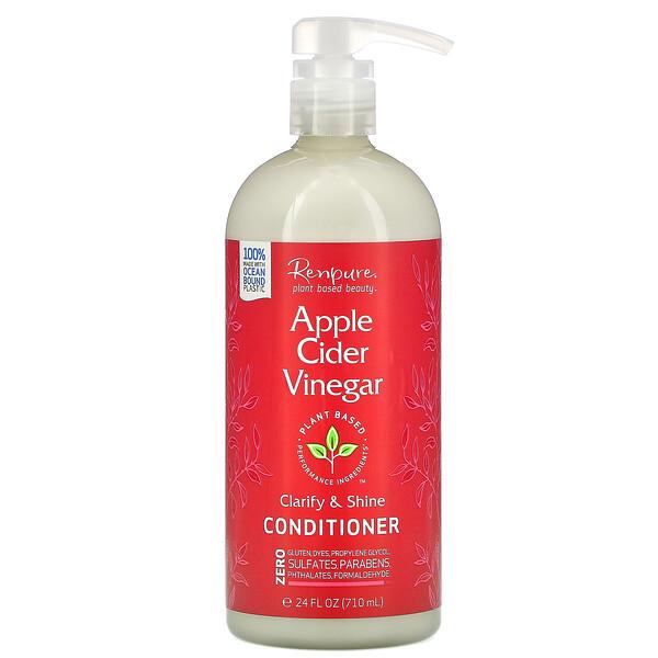 Renpure, Apple Cider Vinegar Conditioner, 24 fl oz (710 ml)