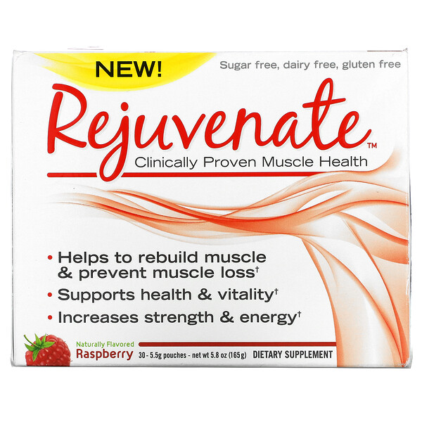 Clinically Proven Muscle Health, Raspberry, 30 Pouches, 0.19 oz (5.5 g) Each