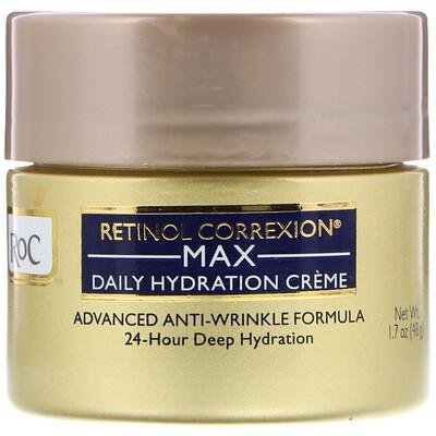 Купить RoC Retinol Correxion Max, дневной увлажняющий крем, 1, 7 унц. (48 г)