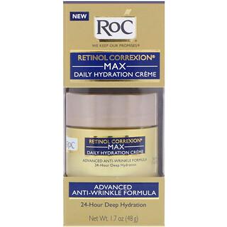 RoC, Retinol Correxion، كريم الترطيب الأقصى اليومي، 1.7 أوقية (48 غ)