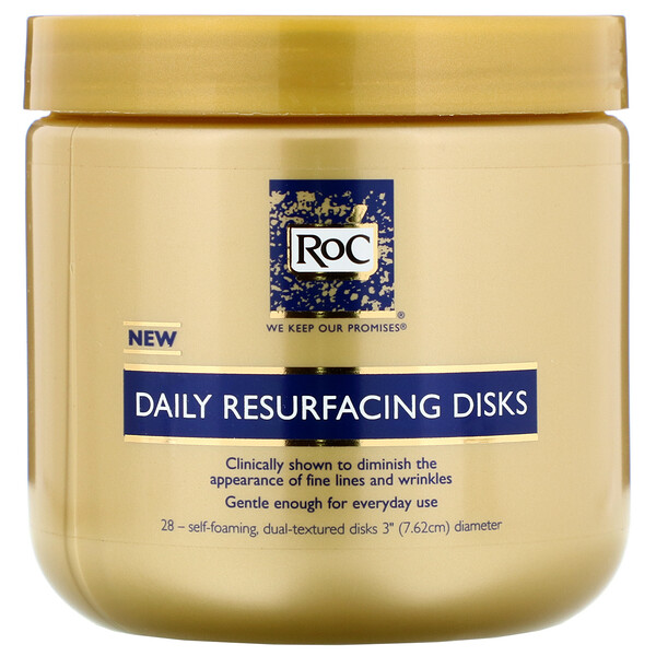 RoC, Daily Resurfacing Disks, 28 Disks (Discontinued Item)