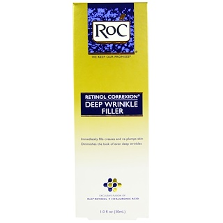 RoC, Retinol Correxion, Deep Wrinkle Filler, 1.0 fl oz (30 ml)