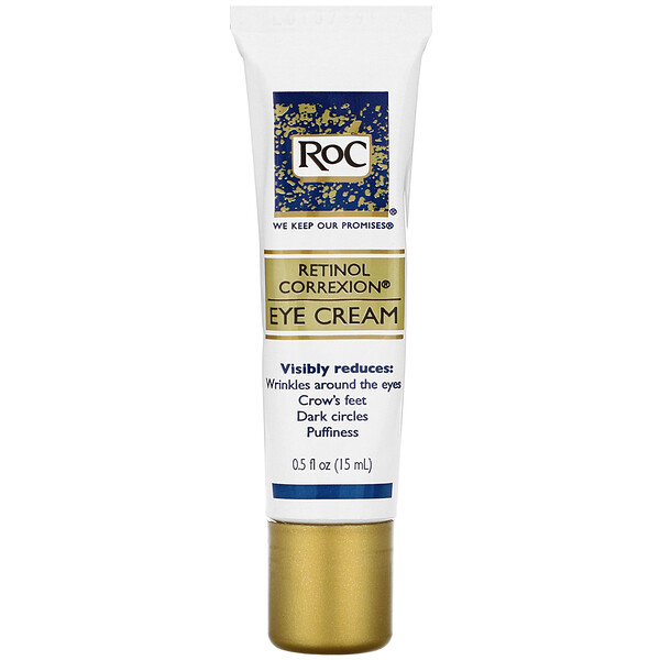 RoC, Retinol Correxion, Eye Cream, 0.5 fl oz (15 ml) (Discontinued Item)
