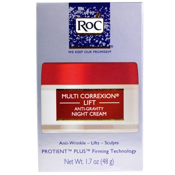 RoC, Multi Correxion Lift, Anti-Gravity Night Cream, 1.7 oz (48 g) (Discontinued Item)