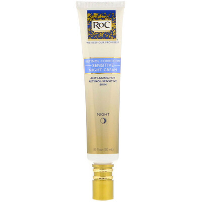 Купить Ретинол Коррексион, ночной крем для чувствительной кожи, 1 жидк. унц. (30 мл)