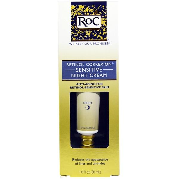 RoC, 松香油修護舒緩晚霜,1、0液量盎司(30毫升)