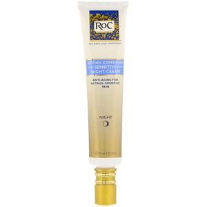 Рос, Retinol Correxion, Sensitive Night Cream, 1.0 fl oz (30 ml) отзывы покупателей