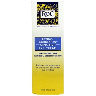 RoC, Retinol Correxion Sensitive Eye Cream, 0.5 fl oz (15 ml)