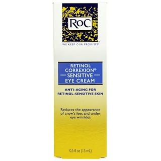 RoC, ريتينول كوريكسيون، كريم للعين الحساسة، 0.5 أوقية سوائل (15 مل)