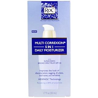 RoC, Multi Correxion 5 In 1 Daily Moisturizer, SPF 30, 1.7 fl oz (50 ml)