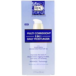 Рос, Multi Correxion 5 In 1 Daily Moisturizer, SPF 30, 1.7 fl oz (50 ml) отзывы