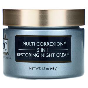 Рос, Multi Correxion, 5 In 1, Restoring Night Cream, 1.7 oz (48 g) отзывы покупателей