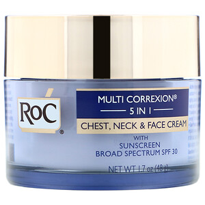 Рос, Multi Correxion 5 in 1, Chest, Neck & Face Cream, 1.7 oz (48 g) отзывы покупателей