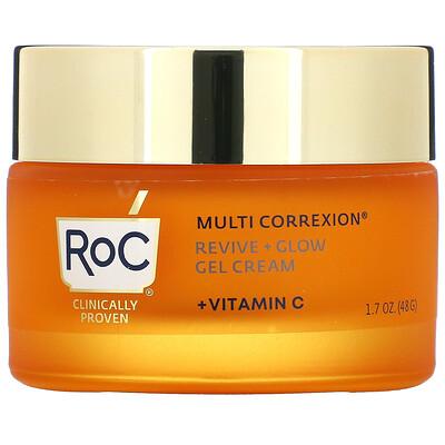 RoC Multi Correxion, Revive + Glow, Gel Cream + Vitamin C, 1.7 fl oz (48 g)