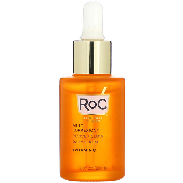 Multi Correxion, Revive + Glow, Daily Serum + Vitamin C, 1 fl oz (30 ml)