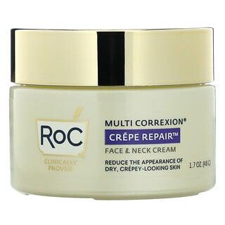 RoC, Multi Correxion, Crepe Repair, Face & Neck Cream, 1.7 oz (48 g)