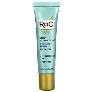 RoC, Multi Correxion, Hydrate + Plump, Eye Cream, 0.5 fl oz (15 ml)