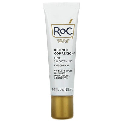 Купить RoC Retinol Correxion Line Smoothing Eye Cream, 0.5 oz (15 ml)